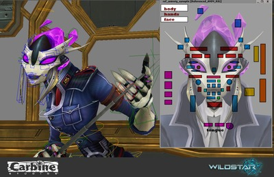 Image article Polycount sur les graphismes - WildStar rig
