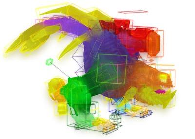 Carte des densités avec les détails de texture