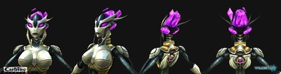 Image article Polycount sur les graphismes - WildStar Hong Cinematic Mechari F e1370299116418