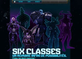 Teaser des classes sur site officiel