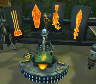 Les Attributs dans WildStar - Engraving Station Table