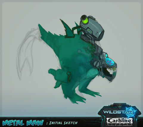 WildStar - Le monstre Metal Maw : du concept à la réalisation