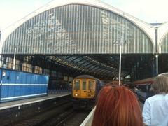 puis un peu de train