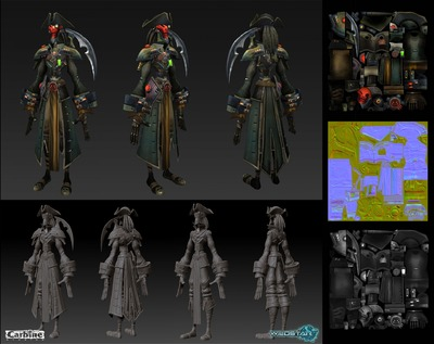 Image article Polycount sur les graphismes - WildStar Hong Johnson Smuggler Armor e1370299086759