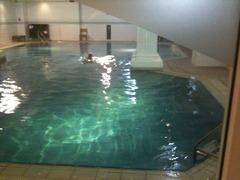puis un peu de piscine