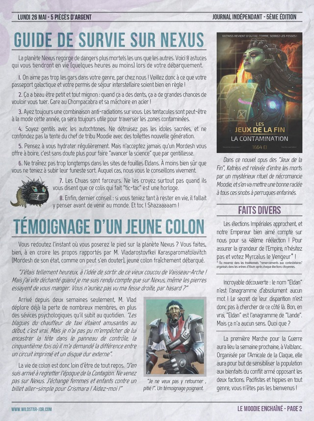 Le Moodie Enchainé N°5 - 2