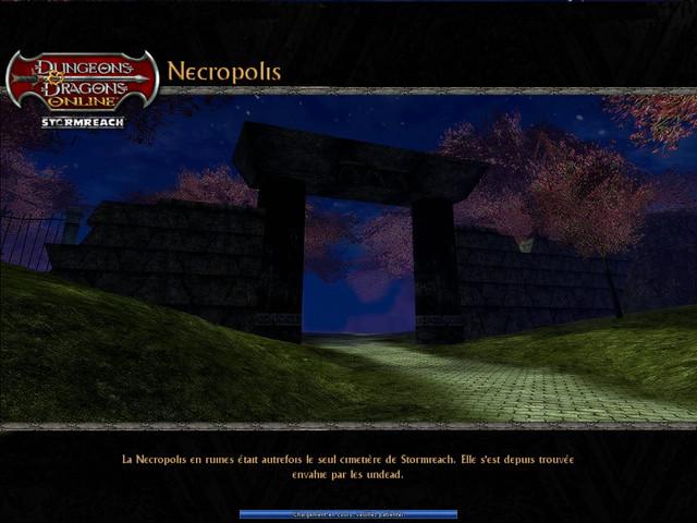Necropolis - écran de Chargement