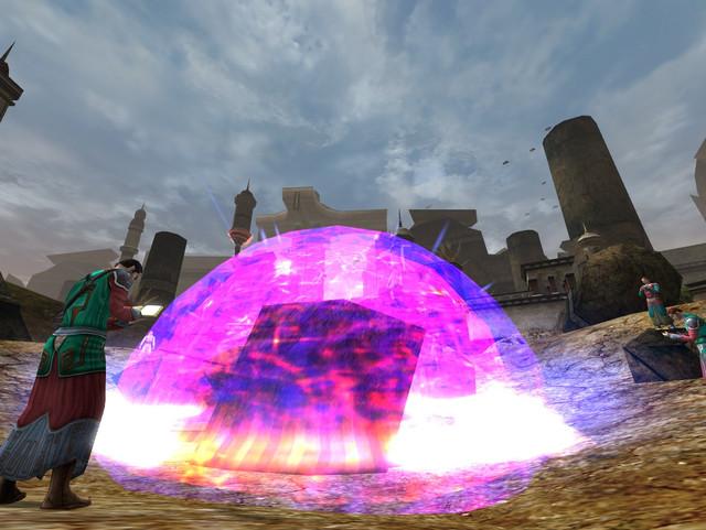 sphère de protection magique