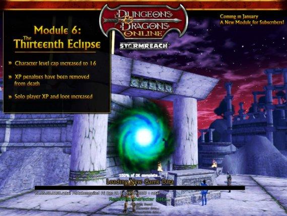 Ecran de chargement n°2 du module 6.0 version américaine