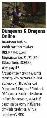 """article résumant DDO dans l'e-zine """"What MMO"""" n°1"""