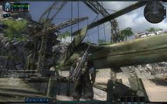 Trois images de la béta sur l'île de départ