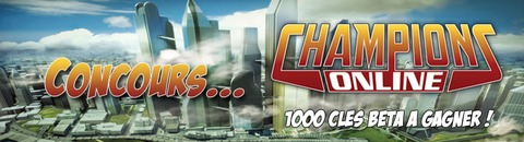 Champions Online - 1000 clés pour le bêta-test de Champions Online