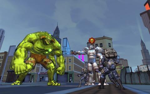 Champions Online - Incarner un super vilain de Champions Online le temps d'un raid