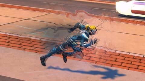 Champions Online - Aperçu : Distortion Acrobatics