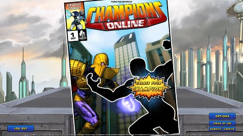 Champions Online - Streaming JoL-TV : session découverte de Champions Online