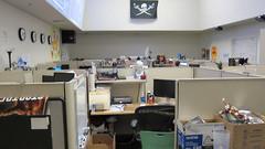 La « Netops Room », où nous nos ingénieurs font le suivit des serveurs pour que le tout continue à tourner rondement.