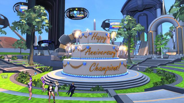 Premier anniversaire de Champions Online