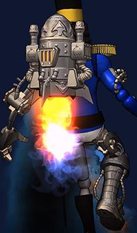 Réacteur Steampunk