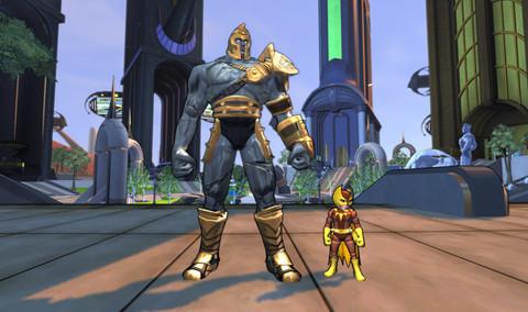 Champions Online - Etat du jeu : 22 juillet 2009