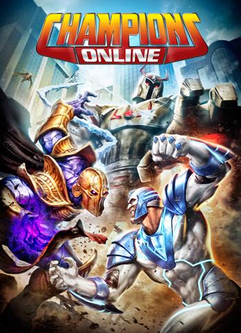 Champions Online - Boite de jeu