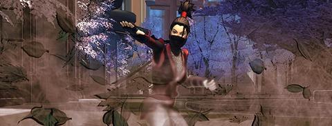 Champions Online - Nouveau pouvoir de voyage - Ninja Leaves
