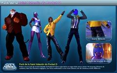 Ensemble de costumes Pocket D