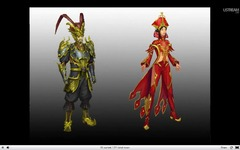 modéles de costumes d'inspiration chinoise