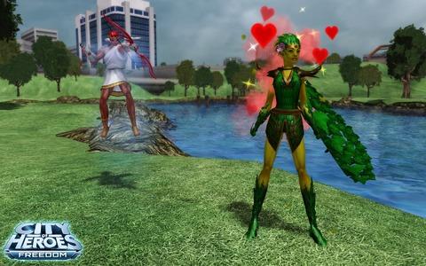 City of Heroes - Les festivités de la Saint-Valentin 2012 sont ouvertes