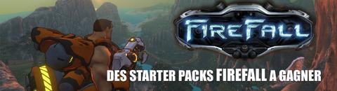 20 « Operator Starter Packs » Firefall à gagner !