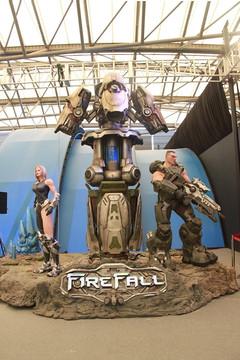 ChinaJoy 2011 : Firefall prend la pose