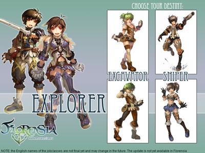 Changement de carrière des Explorers