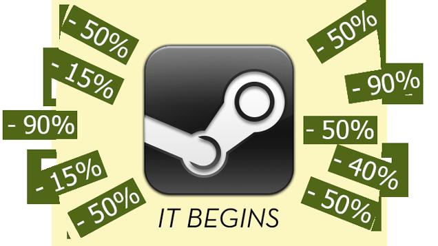 Steam lance ses soldes d'hiver, mais sans promotions flash