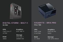 CES 2014 - Différents modèles de Steam Machine se dévoilent