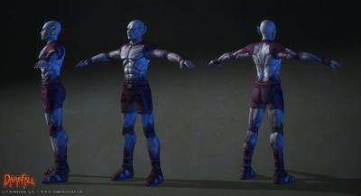 Amélioration des modèles de personnages : les alfars