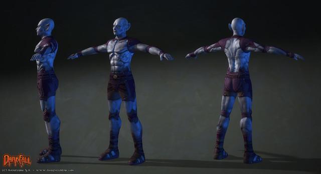Nouveau modèle pour les Alfars Mâles