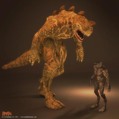 Ragaizan - futur gros monstre vivant sur l'île d'Yssam