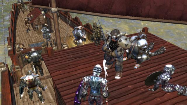 Cairnbears part attaquer la Tour du Sud