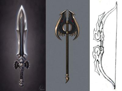 Les gagnants du concours du design d'armes