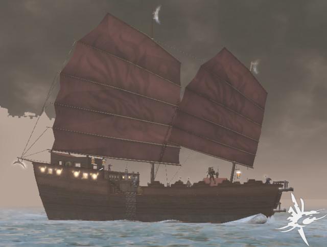 Nouveau navire de guerre, le Schooner.
