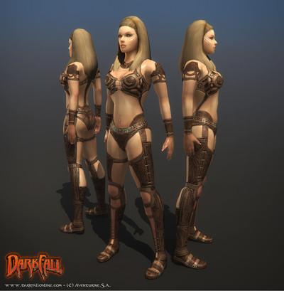Amélioration des modèles de personnages