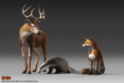 Ajout d'une faune sauvage