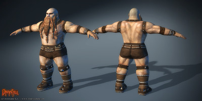 Amélioration des modèles de personnages : les nains