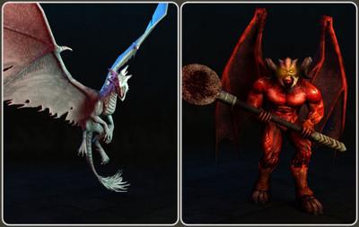 Les nouveaux monstres d'HellFreeze