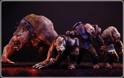 Beastman Devastator & Deathless Servant