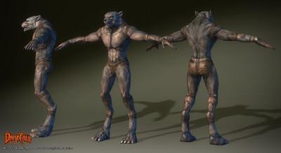 Amélioration des modèles de personnages : les mahirims