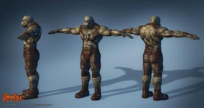 Amélioration des modèles de personnages : les orks