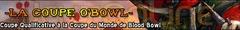Lancement de la Coupe O'Bowl