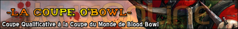 En direct de la Coupe O'Bowl