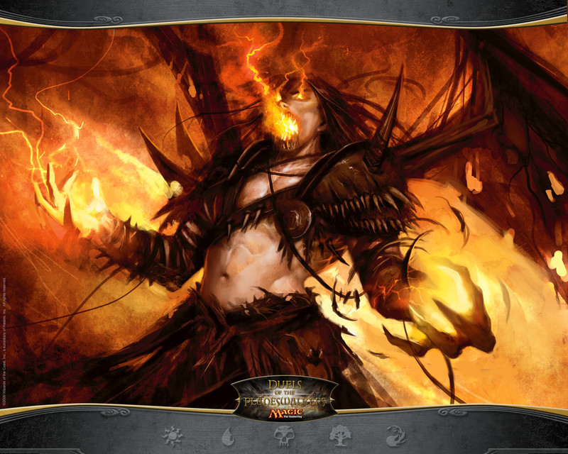 Fond d   233 cran Form of the DragonPlaneswalker Wallpaper