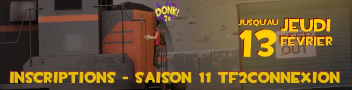 Saison 11 TF2Connexion et coupe champignon